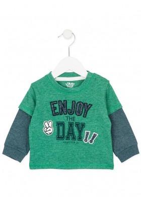 """Camiseta manga larga LOSAN bebe niño """"enjoy"""""""