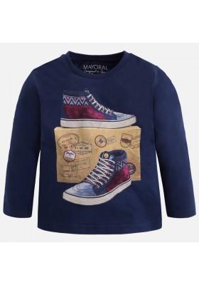 """Camiseta manga larga MAYORAL niño """"zapatillas"""""""