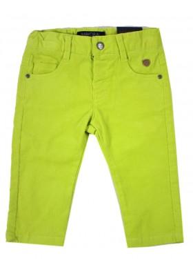Pantalón largo MAYORAL bebe niño forrado pana amarillo
