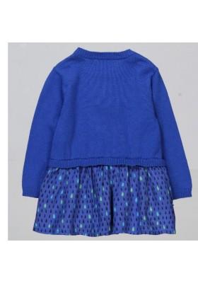 Vestido tricotosa combinado de BOBOLI bebé niña