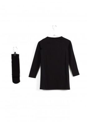 Vestido LOSAN niña negro