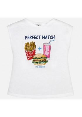 Camiseta m/c hamburguesa