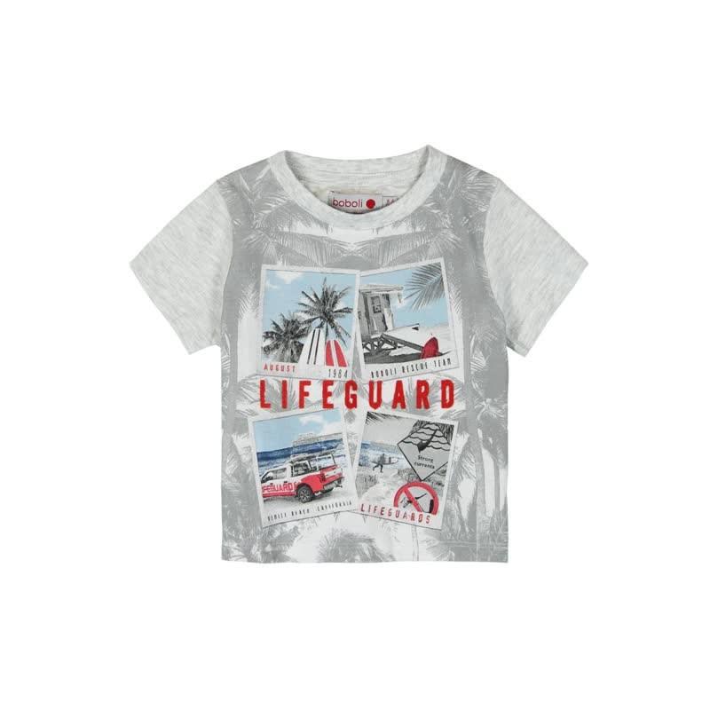 80b242723ced5 Camiseta manga corta punto liso BOBOLI de bebé niño