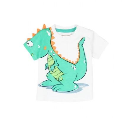 """Camiseta manga corta punto liso BOBOLI de bebé niño """"dragon"""""""