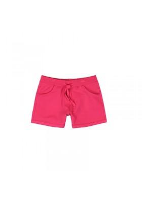 Pantalón corto BOBOLI niña felpa elástica chicle