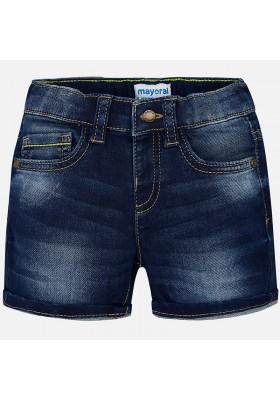 Pantalón corto MAYORAL bebe niño tejana knit denim