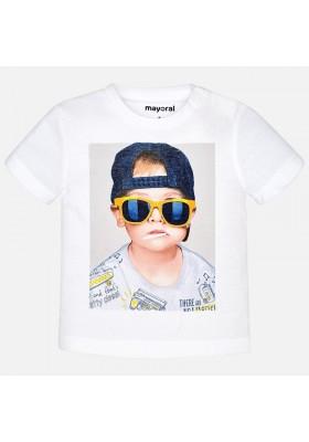 "Camiseta manga corta MAYORAL bebe niño ""boy"""