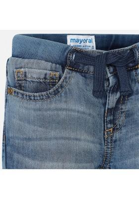 Pantalón largo tejano MAYORAL bebe niño patente basic