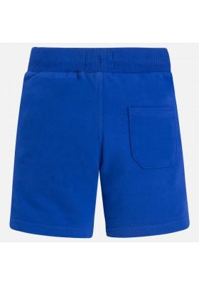 Pantalón corto MAYORAL niño felpa basica royal