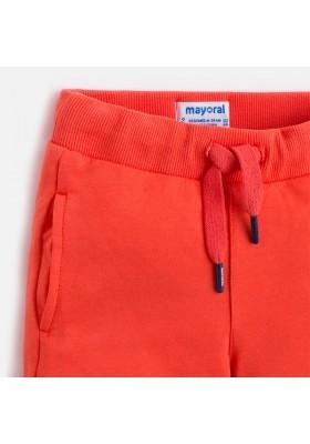 Pantalón corto MAYORAL niño felpa basica nectar