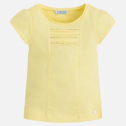 Camiseta manga corta MAYORAL niña basica