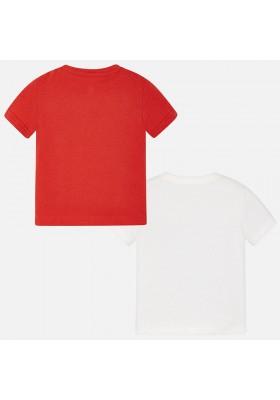 Set 2 camisetas manga corta MAYORAL niño lisas