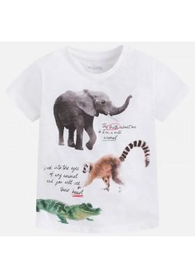"Camiseta manga corta MAYORAL niño ""animals"""