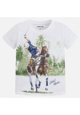 Camiseta manga corta MAYORAL niño polo