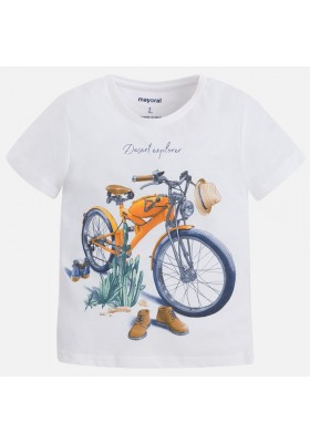 "Camiseta manga corta MAYORAL niño ""motorcycle"""