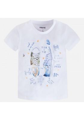 Camiseta manga corta MAYORAL niño serigrafia
