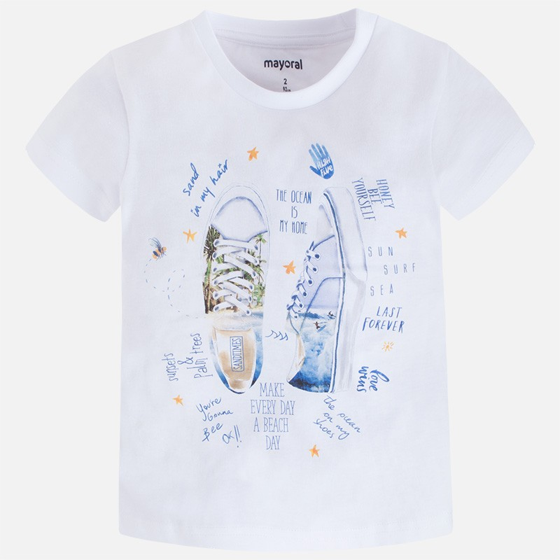 a79a55470 Camiseta manga corta MAYORAL niño serigrafia - tortugablava