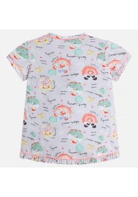 Camiseta manga corta MAYORAL niña estampado dulces