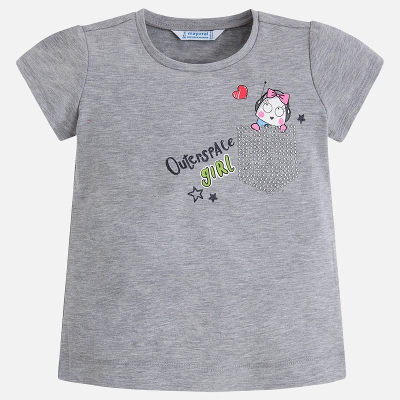 e19478434 Camiseta manga corta MAYORAL niña grafica - tortugablava
