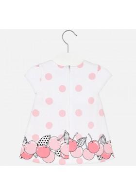 Vestido punto MAYORAL bebe niña cereza