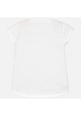 Camiseta manga corta MAYORAL  niña alas lentejuelas