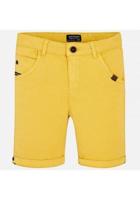 Pantalón corto MAYORAL niño estructura stretch