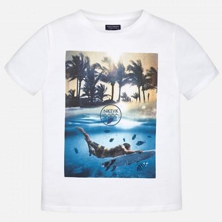 "Camiseta manga corta MAYORAL niño ""nktvk"""