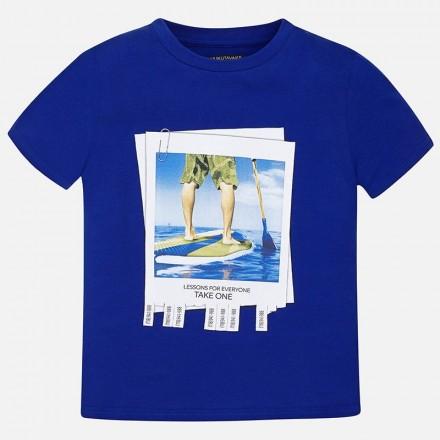 "Camiseta manga corta MAYORAL niño ""take one"""