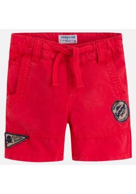 Pantalón corto MAYORAL niño popelin apliques