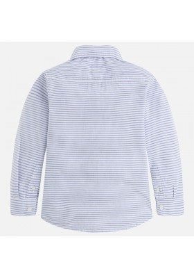 Camisa manga larga MAYORAL niño rayas