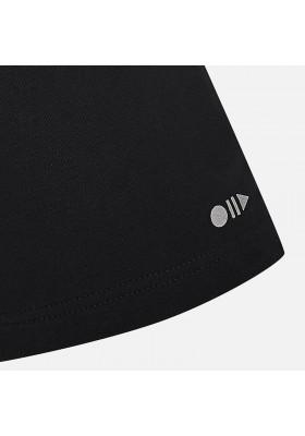 Pantalón corto MAYORAL niño felpa basica negro