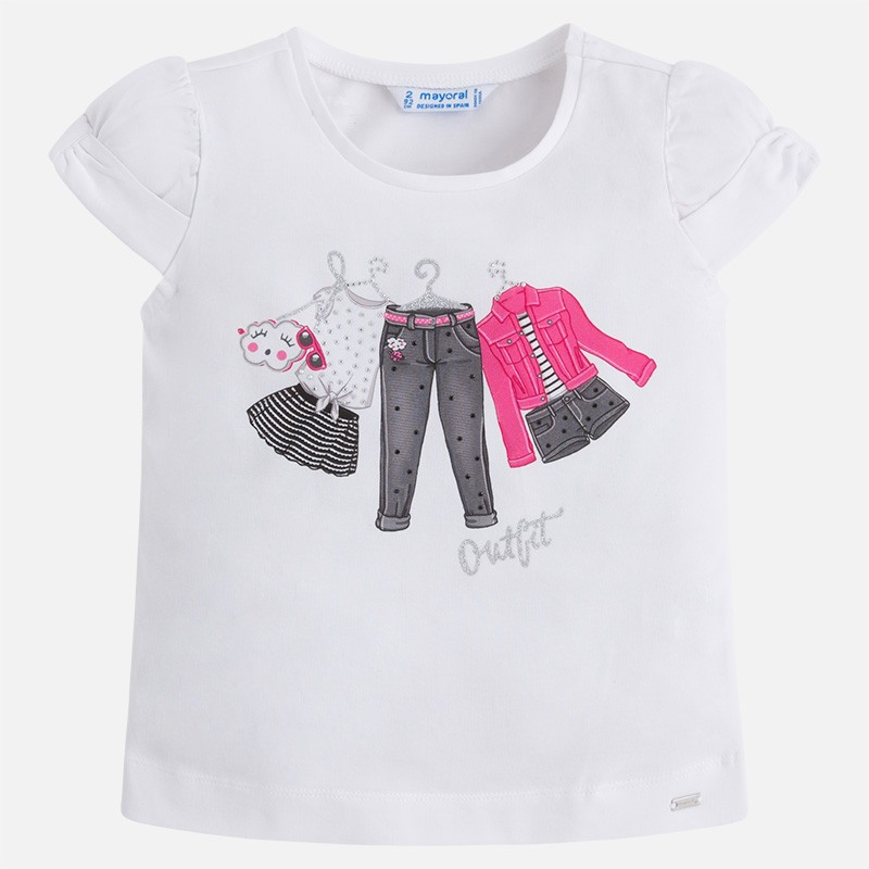 a02484621 Camisetas Cortas Niña – Sólo otra idea de decoración de imagen