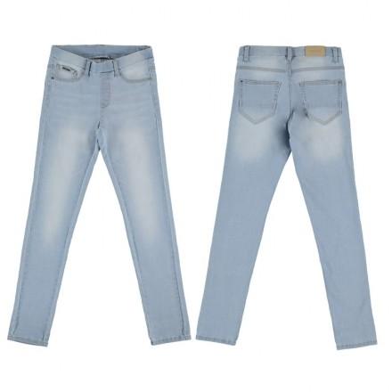 Pantalón largo MAYORAL niña cerrado tejano basic