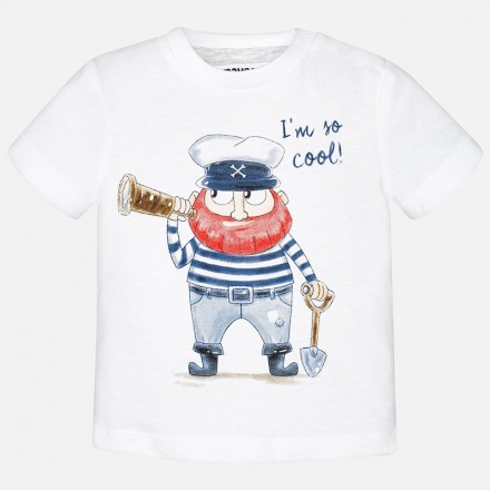 "Camiseta manga corta MAYORAL bebe niño ""pirate"""