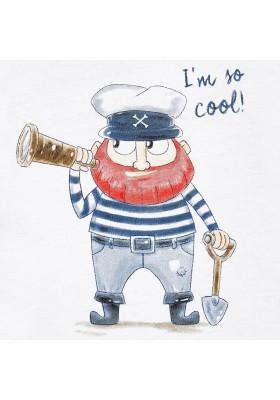"Camiseta manga corta MAYORAL bebe niño  ""pirate"""