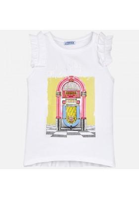 Camiseta tirantes MAYORAL  niña  serigrafia