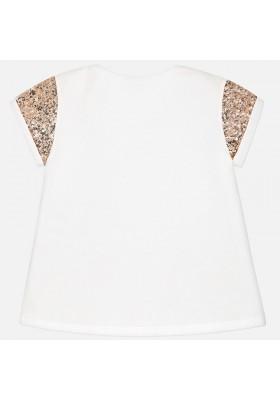 Camiseta manga corta MAYORAL niña lentejuelas