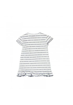 Camiseta manga corta BOBOLI punto de bebé niña