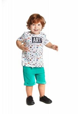 Camiseta manga corta LOSAN bebe niño con estampados