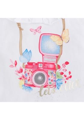 Camiseta MAYORAL niña tirantes camara fotoPetunia