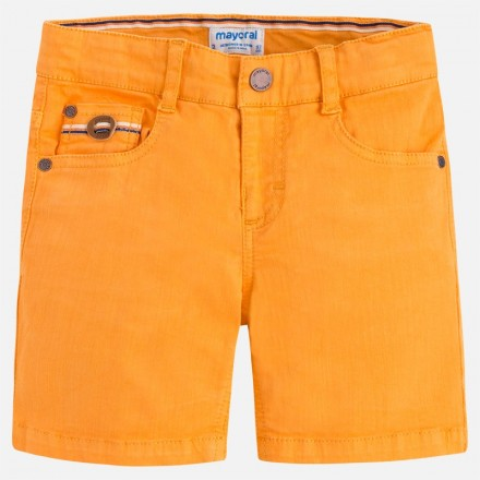 Pantalón corto MAYORAL niño sarga elastan Abeja