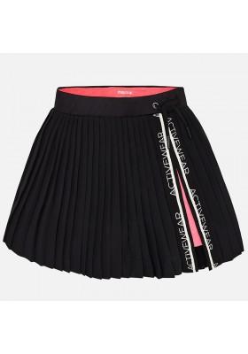 Falda MAYORAL niña pantalon plisada       Negro
