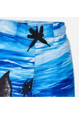 Bañador MAYORAL niño bermuda ballena Azul