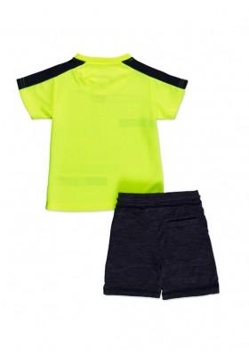 Conjunto LOSAN niño de camiseta de tejido técnico y bermuda