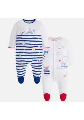 Set 2 pijamas largos MAYORAL bebe niño
