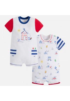 Set 2 pijamas cortos MAYORAL bebe niño