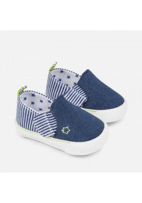 Zapato de MAYORAL  bebé niño en tejido denim