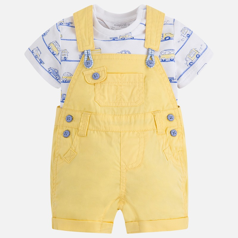 Conjunto MAYORAL bebe niño peto sarga stretch - tortugablava 11537a8ef261