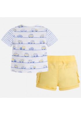 Conjunto MAYORAL bebe niño pantalón corto sarga