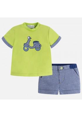 Conjunto pantalón MAYORAL bebe niño corto punto